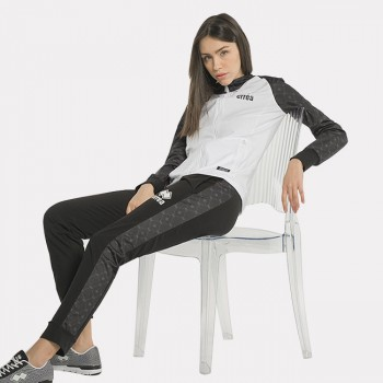 ESSENTIAL SS21 WOMAN TROUSERS STARS AD