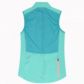 Antivento kona pro run donna menta/giada