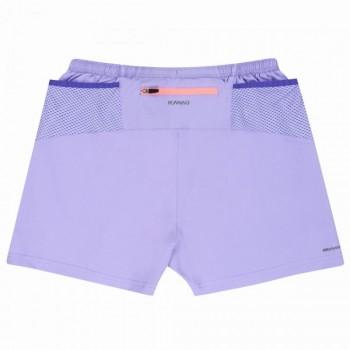 Pantaloncini kona pro run boston micro donna lilla/ciclamino