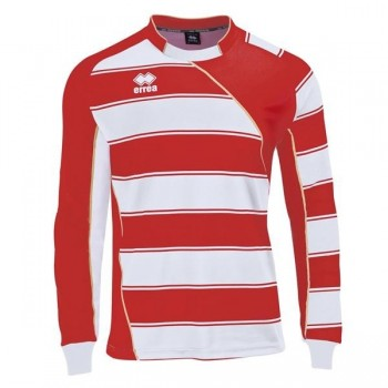 DUNDEE MAGLIA M/L ROSSO BIANCO