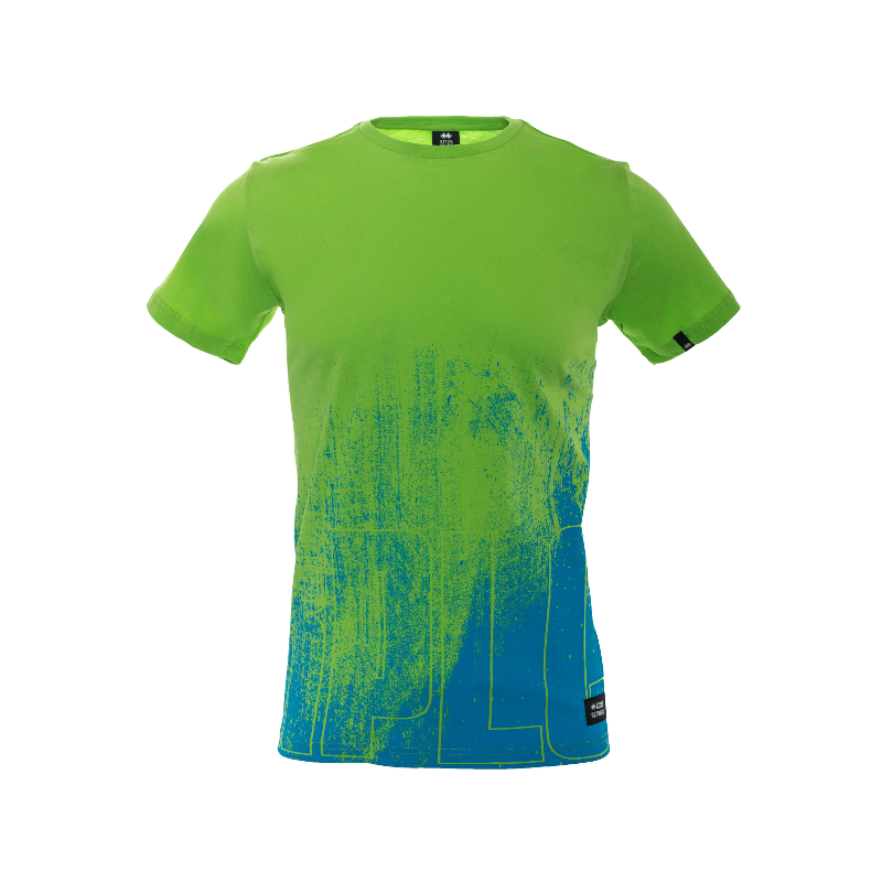 WOMAN ENJOY T-SHIRT AD VERDE FLUO