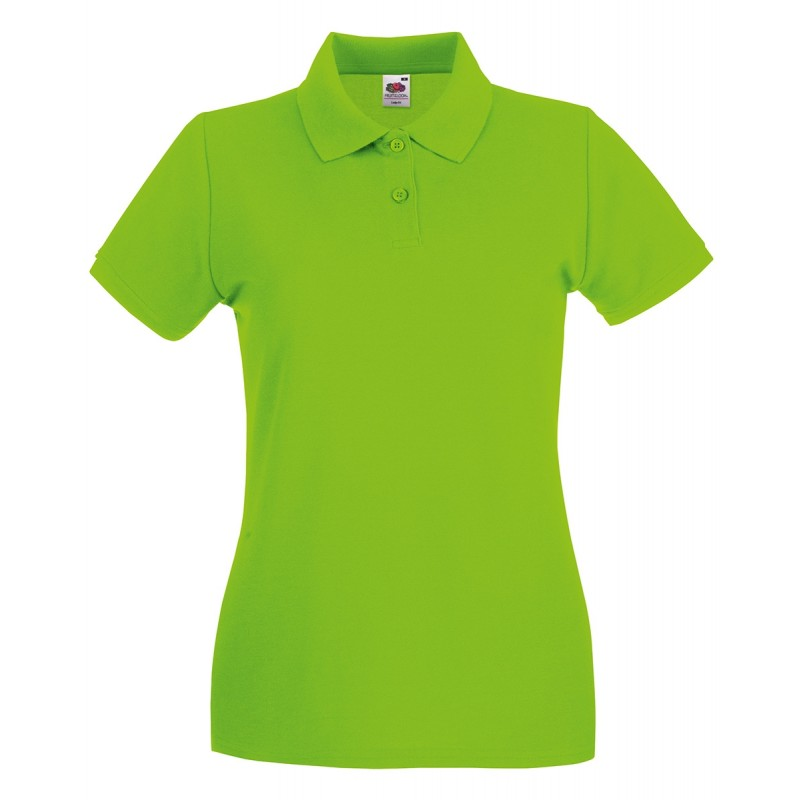 Polo Donna Manica Corta Fruit Of The Loom