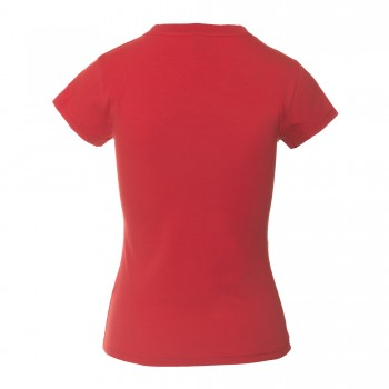 CONTEMPORARY T-SHIRT LOW-NECK WOMAN