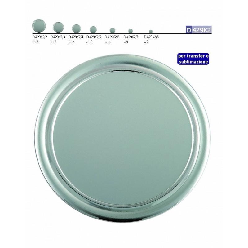 Disco Alluminio Argento