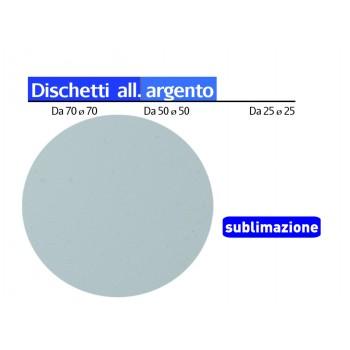 Disco In alluminio Silver