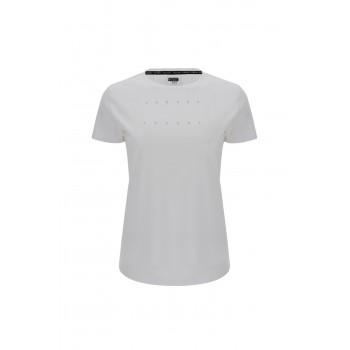 T-shirt Donna a maniche corte in jersey leggero con stampa Freddy