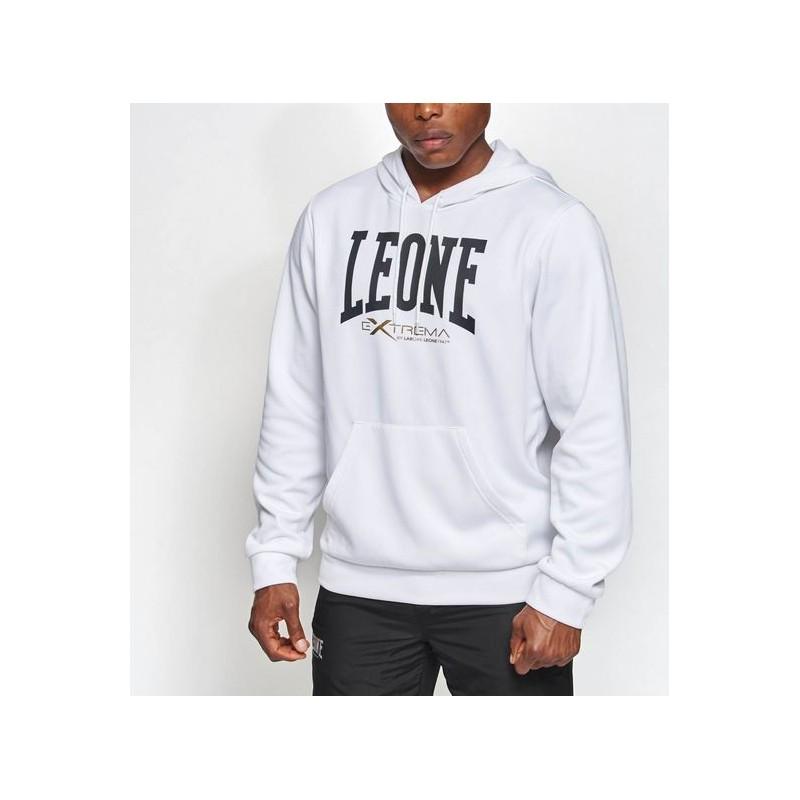 Felpa Con Cappuccio Logo da Uomo Leone